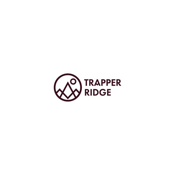 Futura design with the title 'Trapper Ridge'