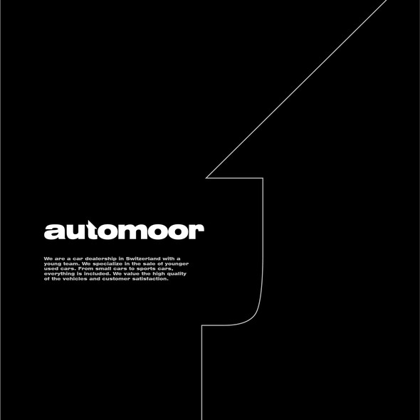 Motor design with the title 'automoor'