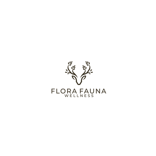 Flora logo with the title 'Flora Fauna Wellness'