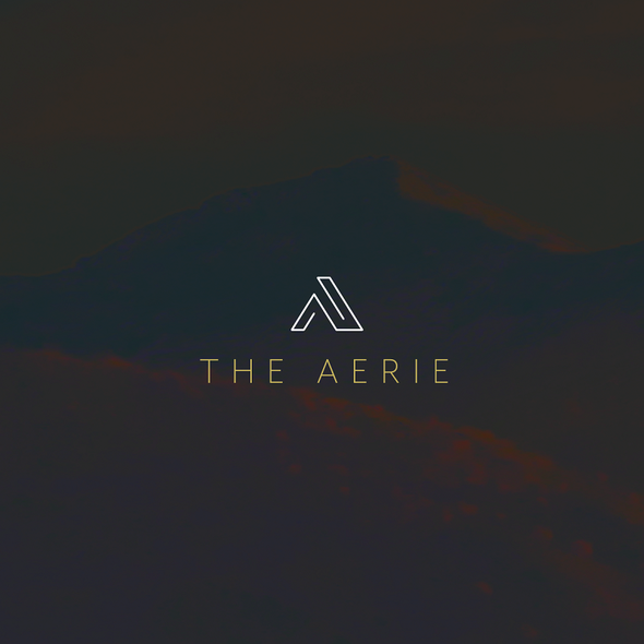 Cellar design with the title 'The Aerie'