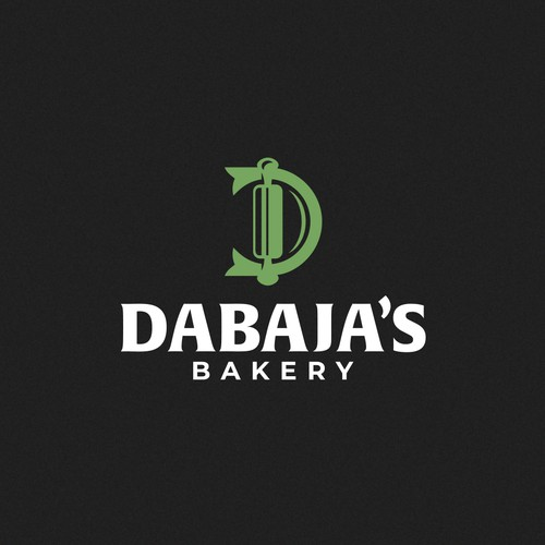 Traditional logo with the title 'Bakery'