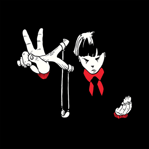 Dark t-shirt with the title 'Peace boy'