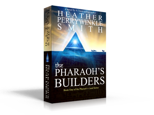 Pyramid design with the title 'Ancient Egypt with a paranormal twist'