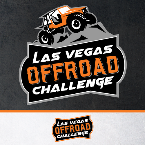 ATV logo with the title 'Las Vegas Offroad Challenge'