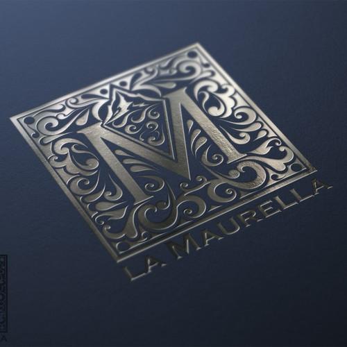 Riverside logo with the title 'Crea il prossimo logo per La maurella'