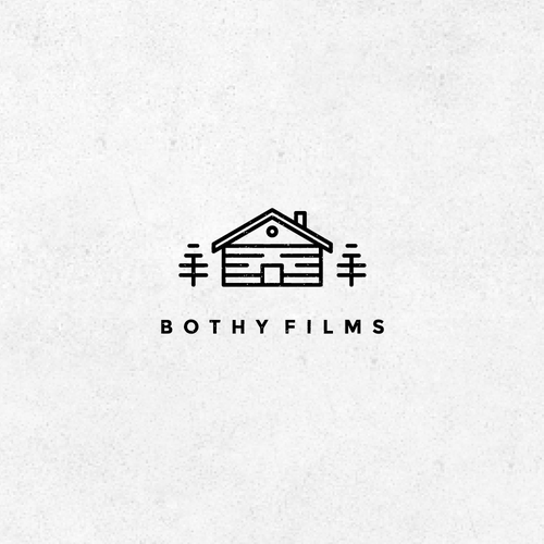 Fir tree logo with the title 'Bothy Films'