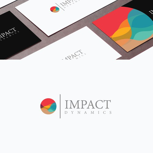 Impact design with the title 'Impact Dynamics'