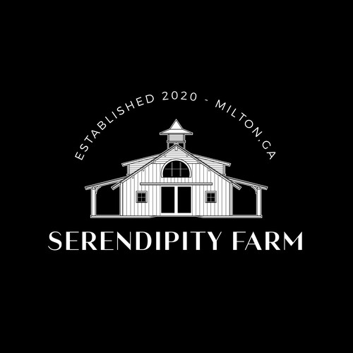 Residence design with the title 'Serendipity Farm'