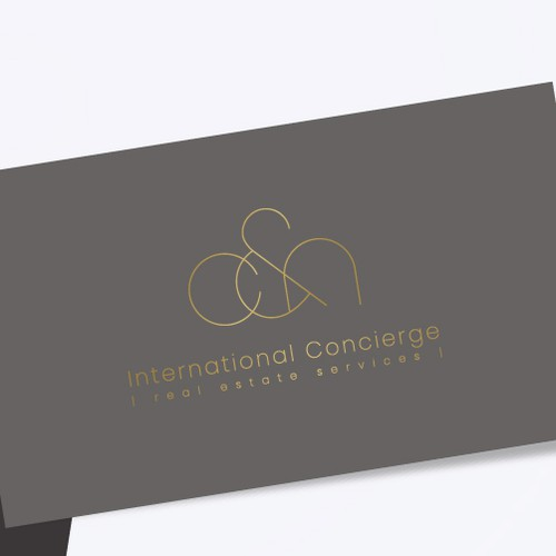 Real estate brand with the title 'Christina & Natalia | International Concierge'