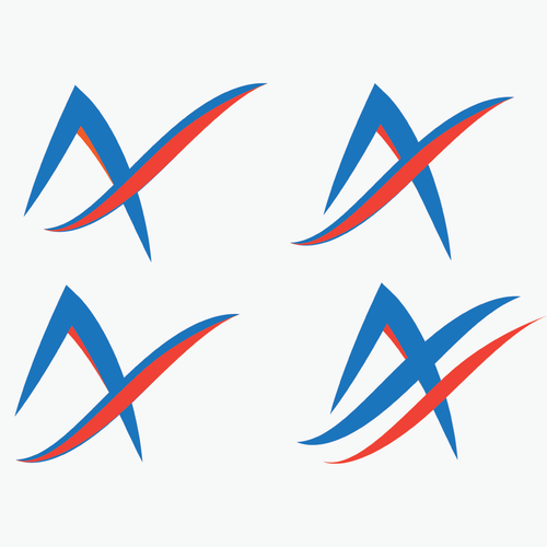 Aerospace logo with the title 'A-logo for Air Company'