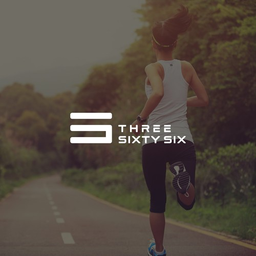 Sportswear logo with the title 'Modern and Clean Design for Sportswear Brand'