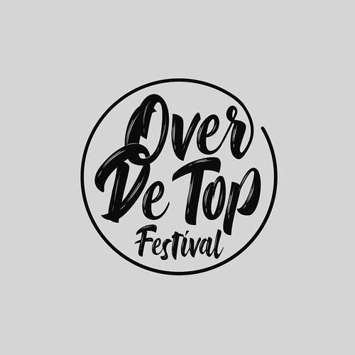 Festival t-shirt with the title 'Over De Top Festival'