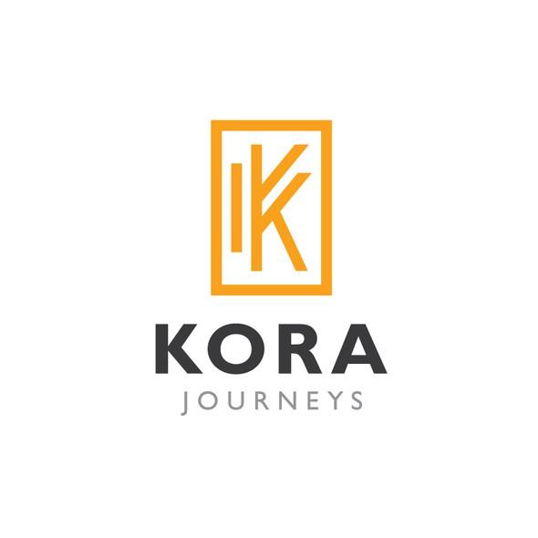 Tour logo with the title 'Kora Journeys'