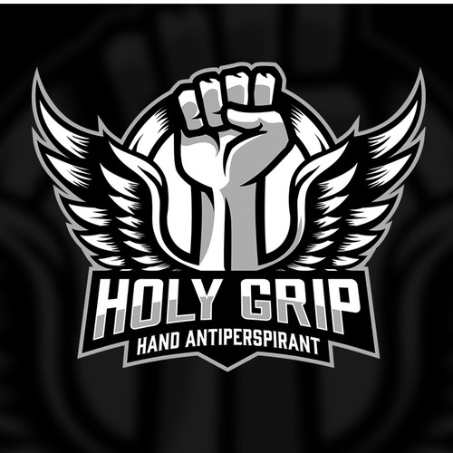 Strong logo with the title 'HOLY GRIP'