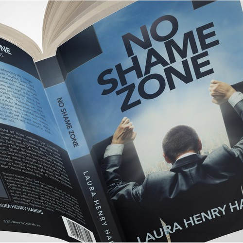 Corporate book cover with the title 'No Shame Zone'