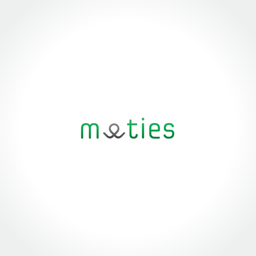 Meeting logo with the title 'Logo for meeties'