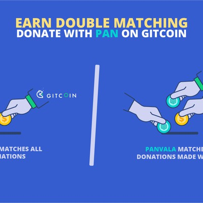 Double Matching donation Illustration