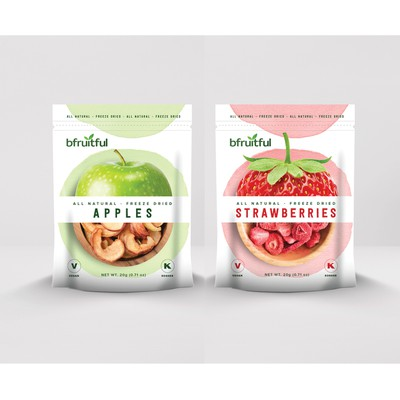 Design for All Natural Freeze Dried Fruit