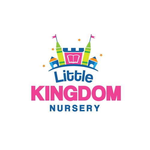 Teacher logo with the title 'Little Kingdom Nursery'