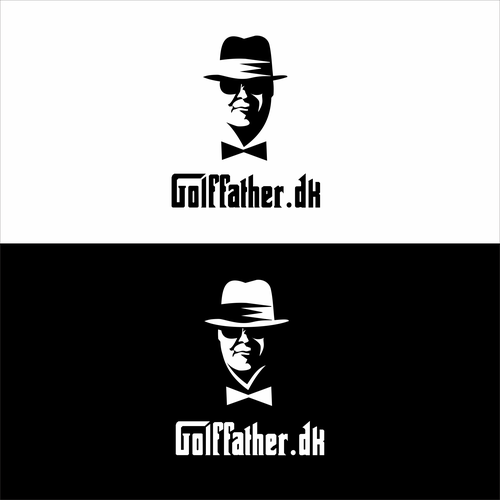 Heavy equipment logo with the title 'Golffather'