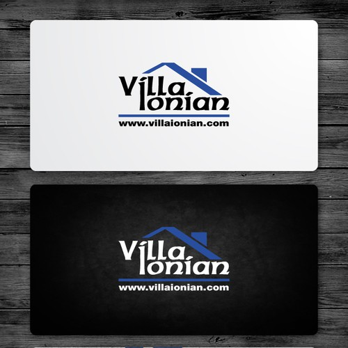 Greek logo with the title 'Logo for Villa Ionian'