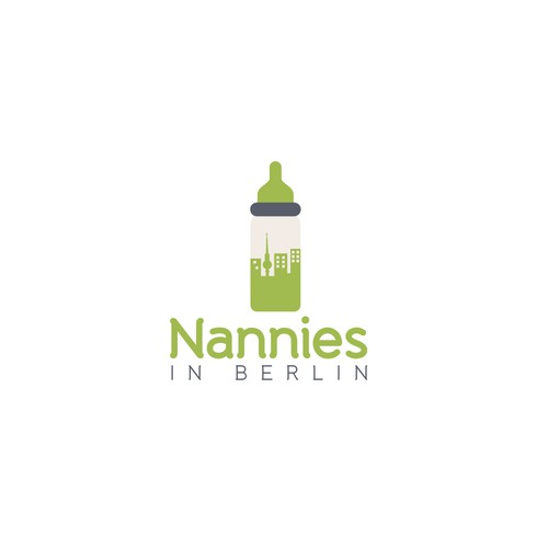 "Berlin design with the title 'Logo for ""Nannies in Berlin""'"