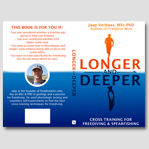 Orange book cover with the title 'Longer & Deeper'
