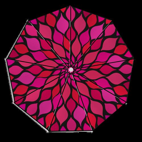 Umbrella design with the title 'Rain rain go away!'