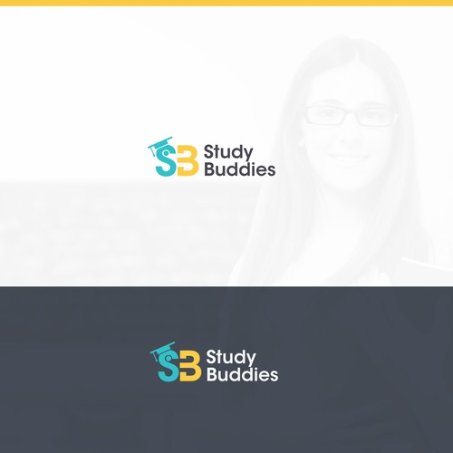 Study logo with the title 'Study  Logo Design'