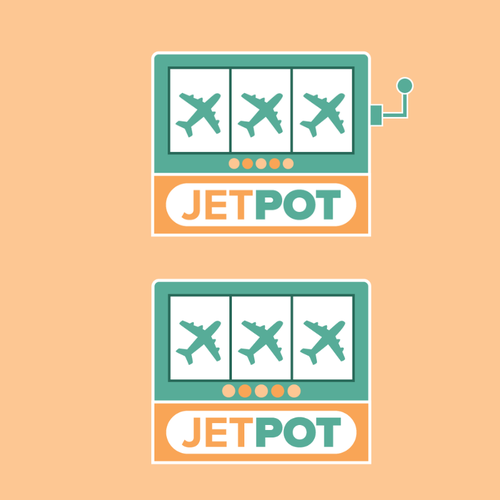 Lottery design with the title 'Contest Entry - JETPOT'