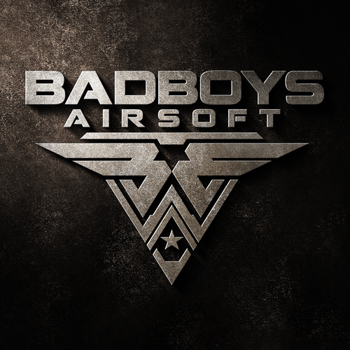Military design with the title 'Logo design for Badboys Airsoft'