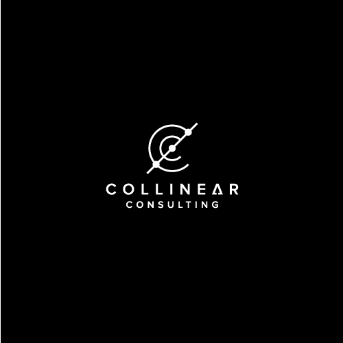 Mathematics design with the title 'collinear consulting'