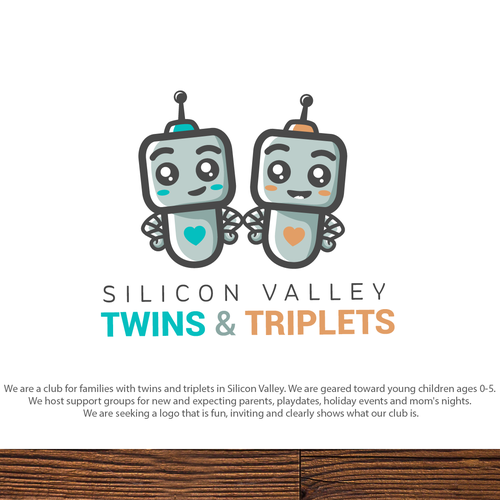 Twin design with the title 'Twins & Triplets'