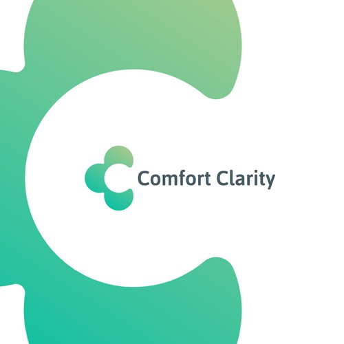Comfort logo with the title 'C for Comfort Logo Symbol letter mark '