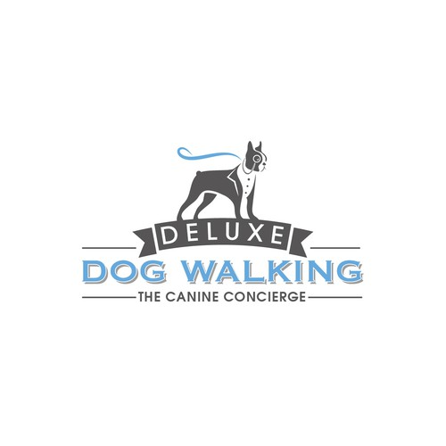 Walk logo with the title 'Dog Walking Company'