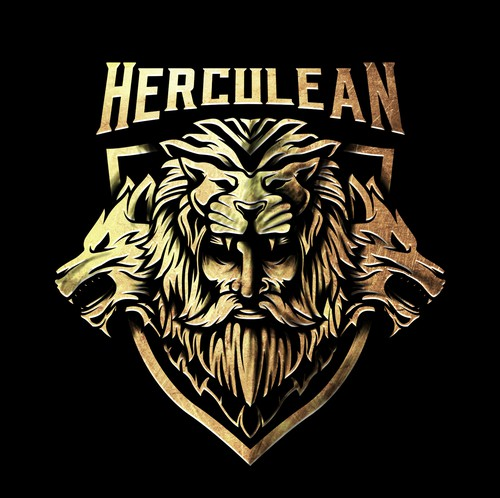 Wolf logo with the title 'HERCULEAN'