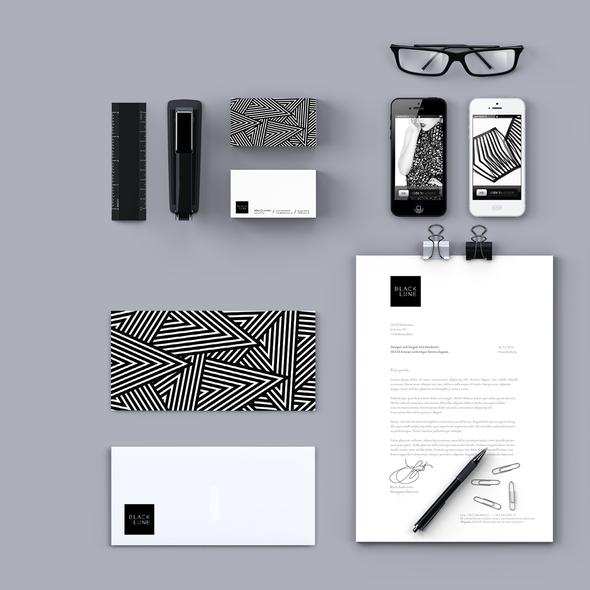Designer brand with the title 'Fashion accessories brand identity'