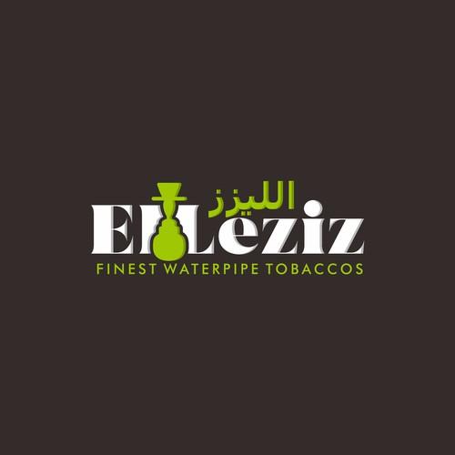 Tobacco logo with the title 'El Leziz'