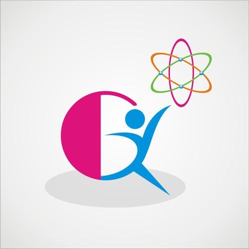 Gymnastics logo with the title 'Quantum Gymnastics'