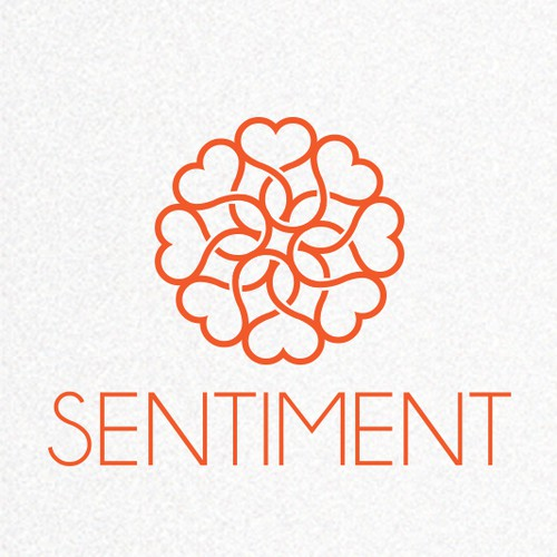 Blossom logo with the title 'Attractive and elegant logo is wanted for Sentiment Flowers'