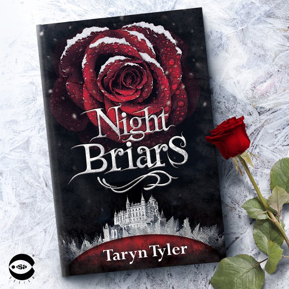 """Gothic design with the title 'Book cover for """"Night Briars"""" by Taryn Tyler'"""