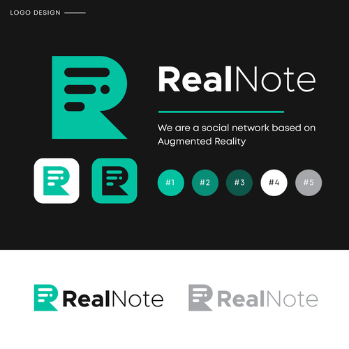 Speech therapy logo with the title 'RealNote'