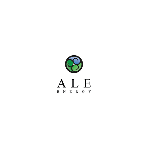 Environmental logo with the title 'ALE energy'