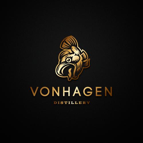 Trout logo with the title 'vonHagen'