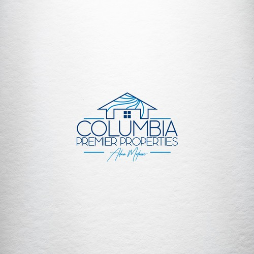 Freelancer logo with the title 'Logo for Columbia Premier Properties AND/OR Adam Mathews'