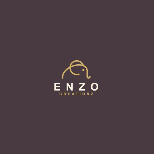 E logo with the title 'Enzo Creationz'