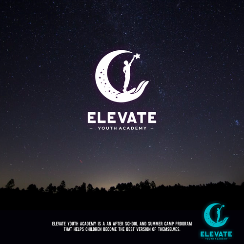 Kid design with the title 'Elevate Youth Academy'