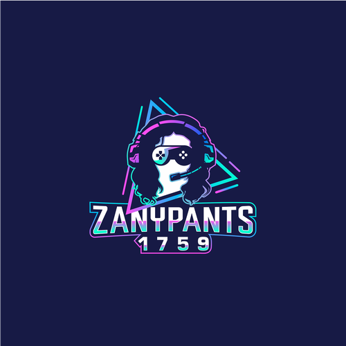 """Twitch logo with the title 'Winner of """"ZanyPants1759"""" Contest'"""