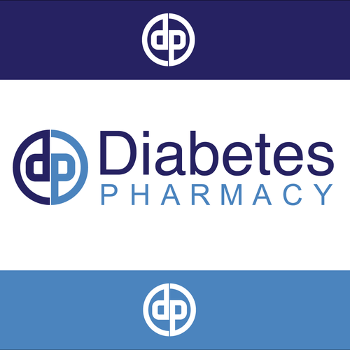 Diabetes design with the title 'Logo for Diabetes Pharmacy'