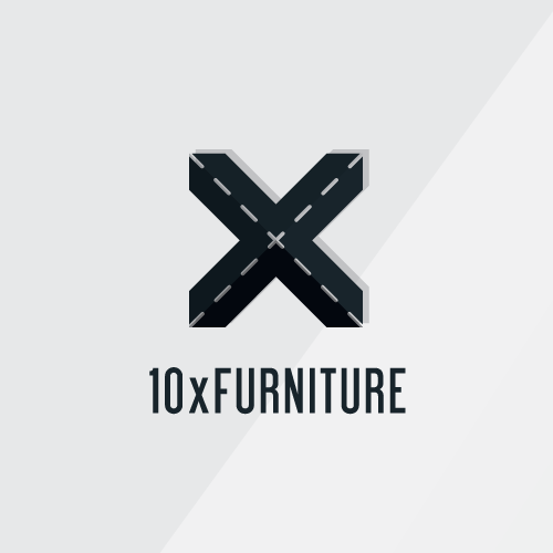 X logo with the title 'Simple and Modern logo concept!'